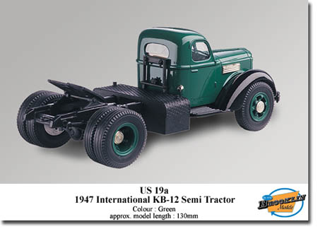 Модель 1:43 International KB-12 - green