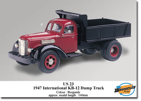 Модель 1:43 International KB-12 TIPPER