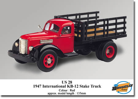 Модель 1:43 International KB-12 STAKE Truck