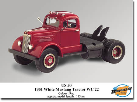 Модель 1:43 WHITE Mustang WC22 / red