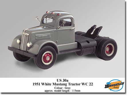 Модель 1:43 WHITE Mustang WC22 (GREY)