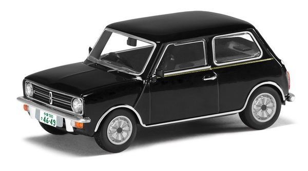 модель 1 1 Austin Mini Clubman 1100 Japan Black