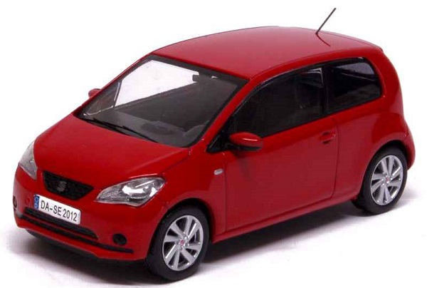Модель 1:43 Seat Mii 3 Doors 2012 Tornado Red
