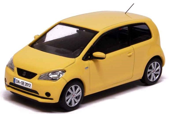 Модель 1:43 Seat Mii 3 Doors 2012 Sunflower Yellow
