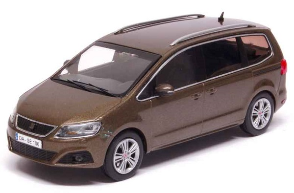 Модель 1:43 Seat Alhambra 2010 Boal Brown