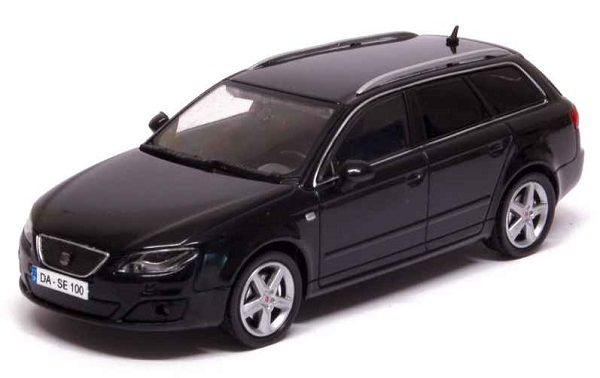 Модель 1:43 Seat Exeo ST 2013 Black Metal/ Facelift