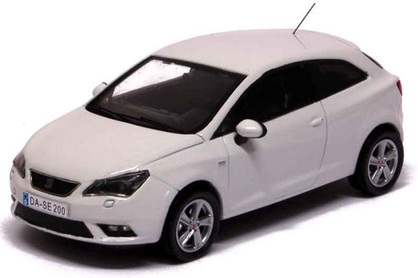 Модель 1:43 Seat New Ibiza SC 2013 White/ Facelift
