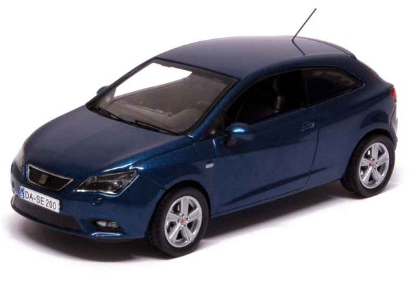 Модель 1:43 Seat New Ibiza SC 2013 Speed Blue Metal/ Facelift