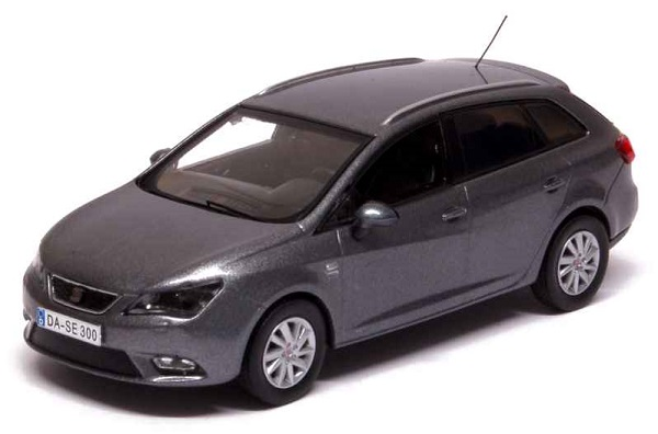 Модель 1:43 Seat New Ibiza ST 2013 Pirineus Grey Metal/ Facelift