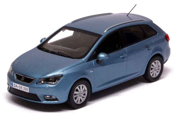 Модель 1:43 Seat New Ibiza ST 2013 Alba Blue Metal/ Facelift