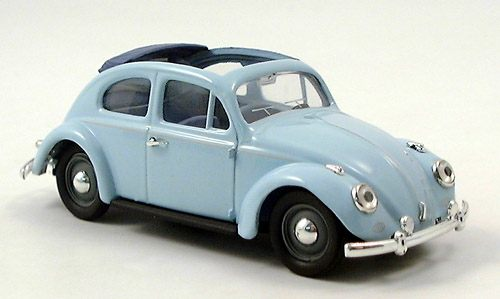 Модель 1:43 Volkswagen Kafer 1200 open - light blue
