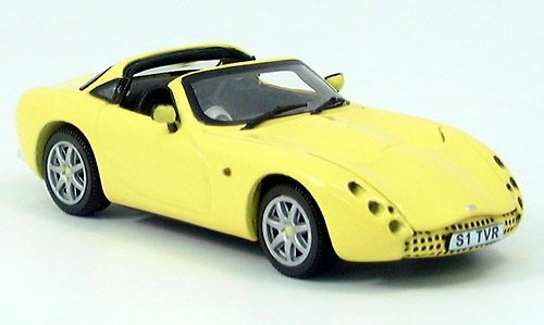 Модель 1:43 TVR Tuscan (open) - yellow