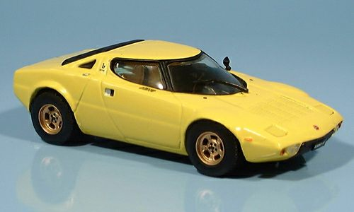 Модель 1:43 Lancia Stratos - yellow