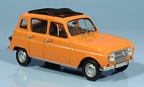 Модель 1:43 Renault 4L LOVE - orange