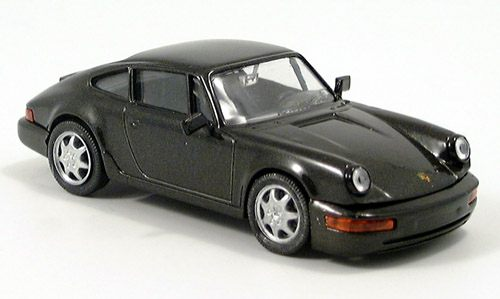 Модель 1:43 Porsche 911 Carrera 4 - anthrazit