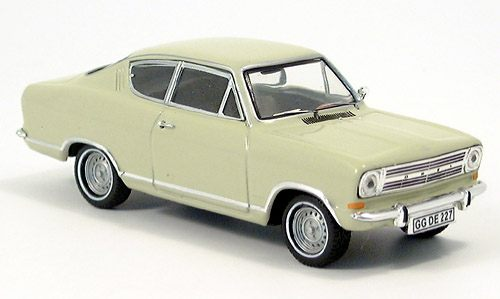 Модель 1:43 Opel Kadett B, Coupe, gray