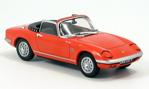 Модель 1:43 Lotus Elan open - red