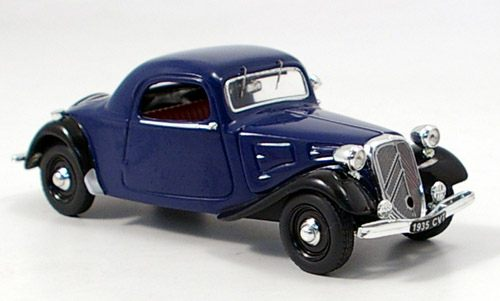 Модель 1:43 Citroen 7CV Coupe - blue/black