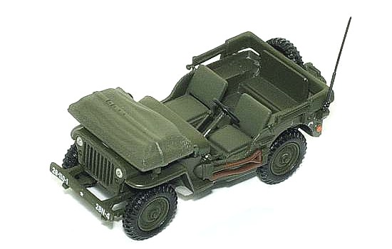 Модель 1:43 Jeep Willys Liberation De Paris