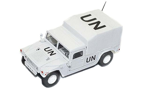Модель 1:43 Hummer CANVAS COVERED PICK-UP - UNITED NATIONS