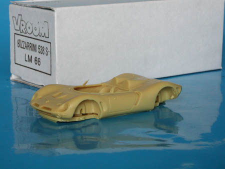 Модель 1:43 Bizzarrini 538 S Le Mans KIT