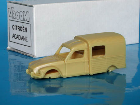 Модель 1:43 Citroen Acadiane KIT