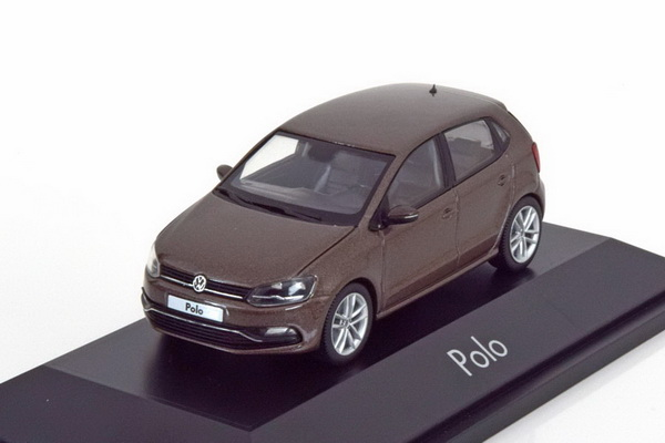 Модель 1:43 Volkswagen Polo 5 - brown