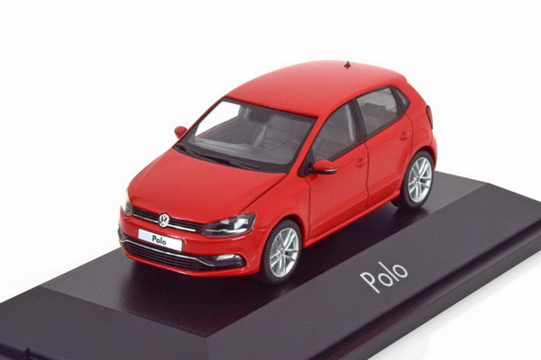 Модель 1:43 Volkswagen Polo 5 - red