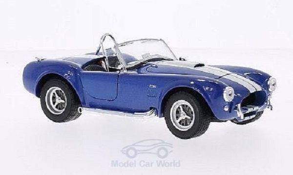 Модель 1:24 Shelby Cobra 427 SC - blue met/white