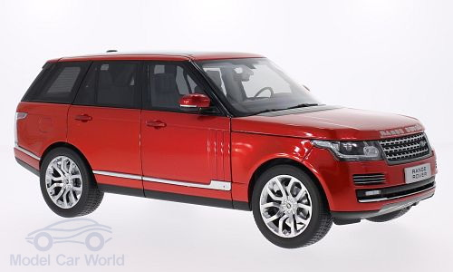 Модель 1:18 Range Rover (L405) - red